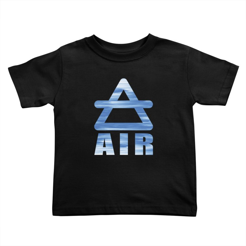 Air Sign Kids Toddler T-Shirt by earthfiredragon