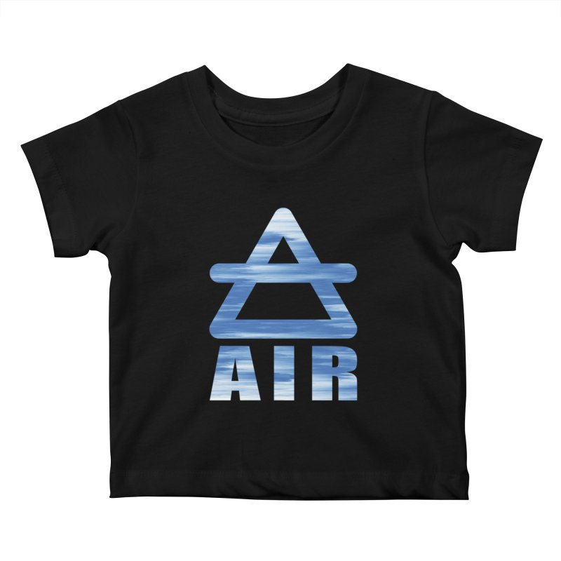 Air Sign Kids Baby T-Shirt by earthfiredragon