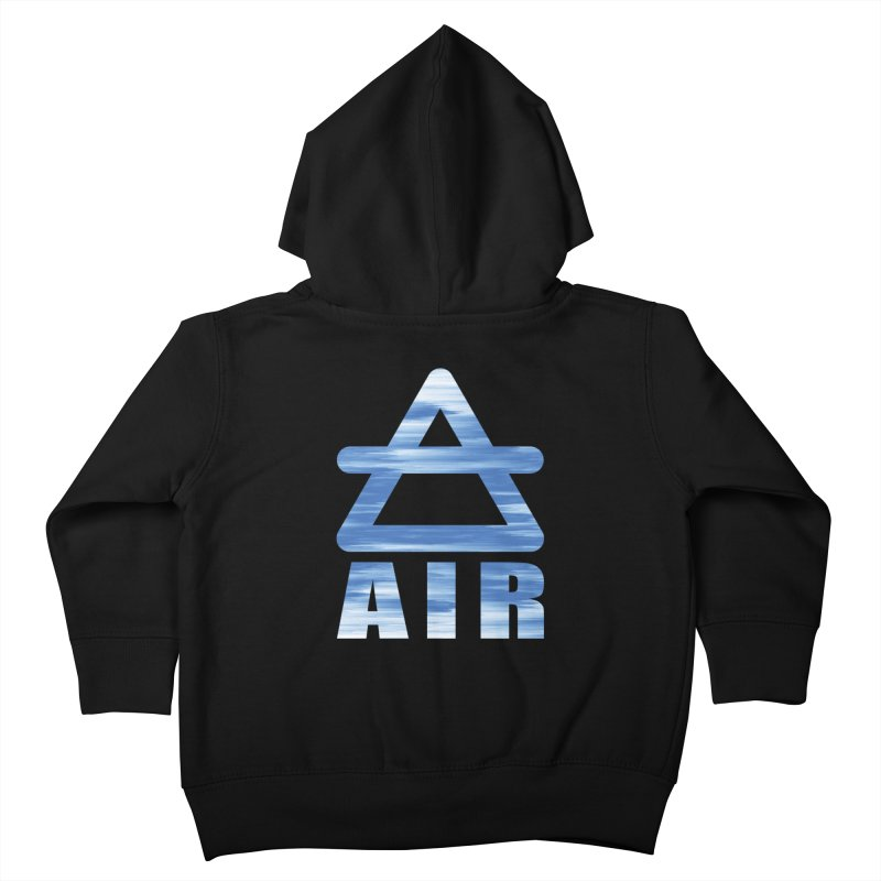Air Sign Kids Toddler Zip-Up Hoody by earthfiredragon