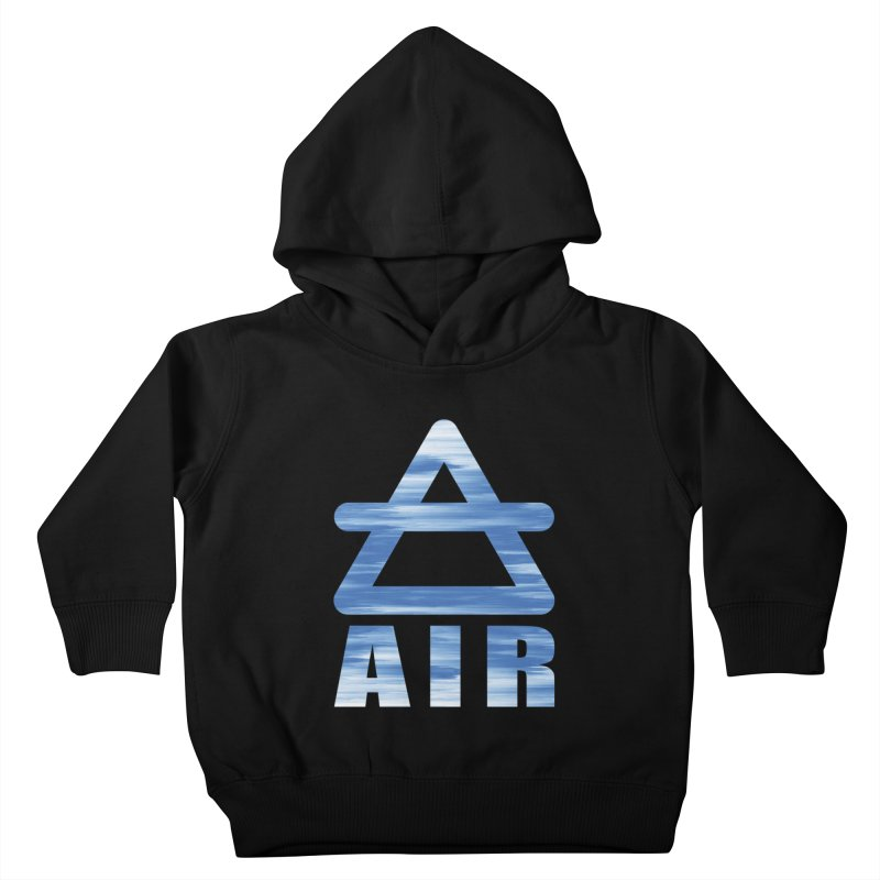 Air Sign Kids Toddler Pullover Hoody by earthfiredragon
