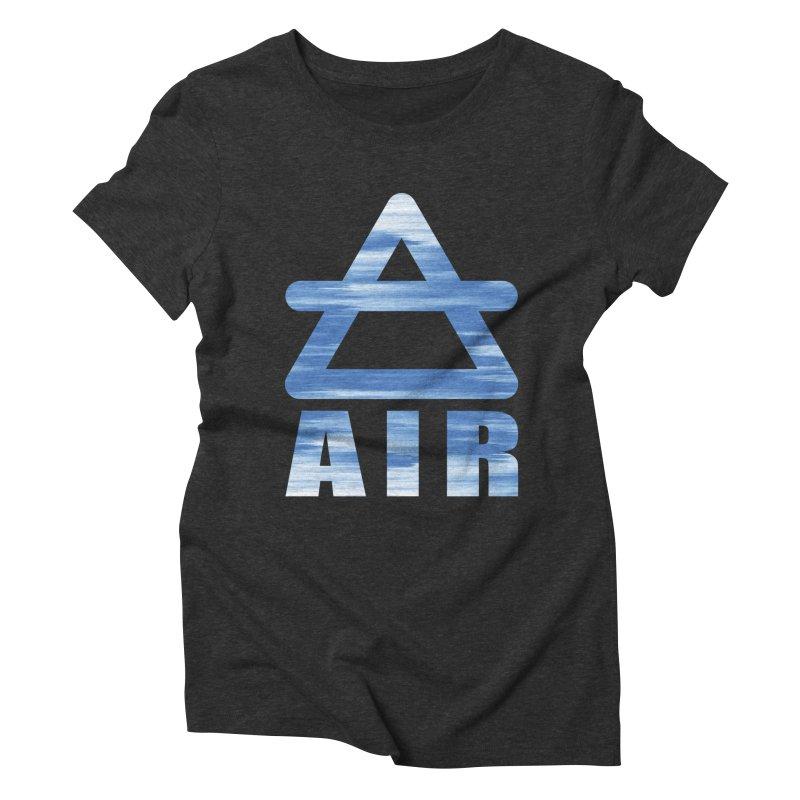 Air Sign Women's T-Shirt by earthfiredragon