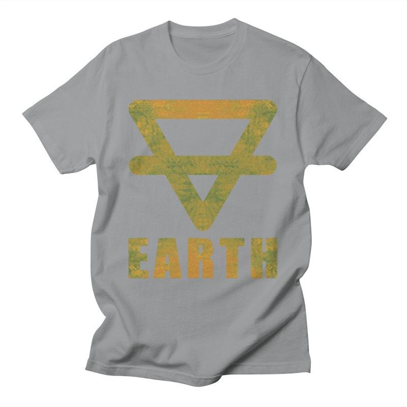 Earth Sign Men's T-Shirt by earthfiredragon