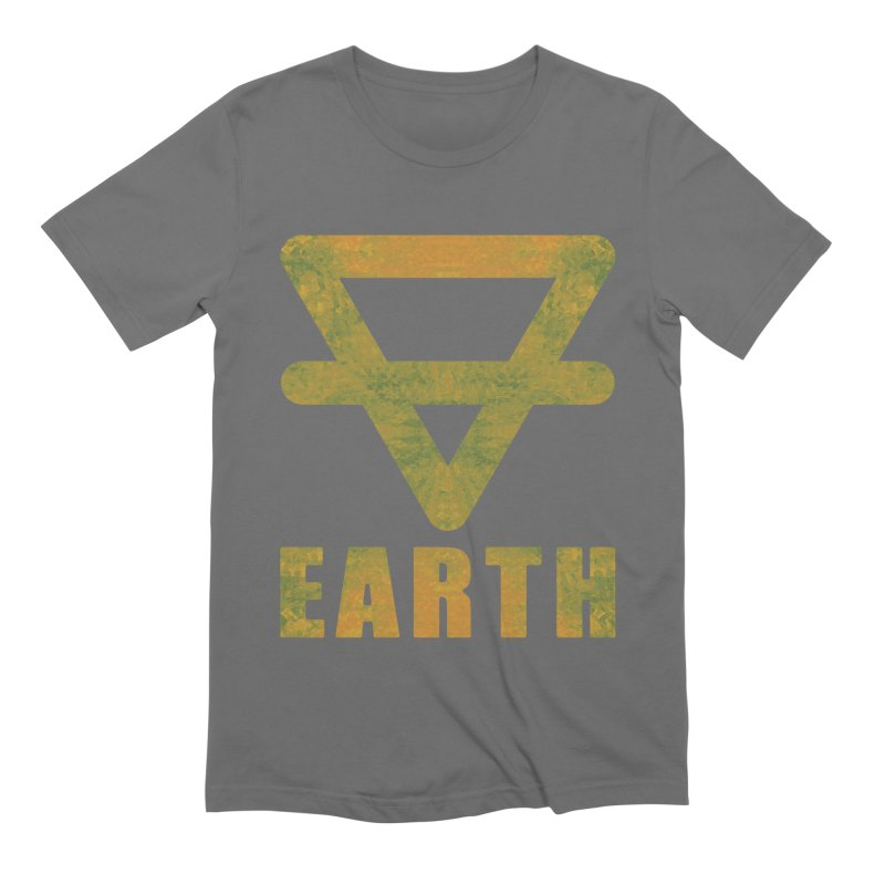 Earth Sign Men's Extra Soft T-Shirt by earthfiredragon