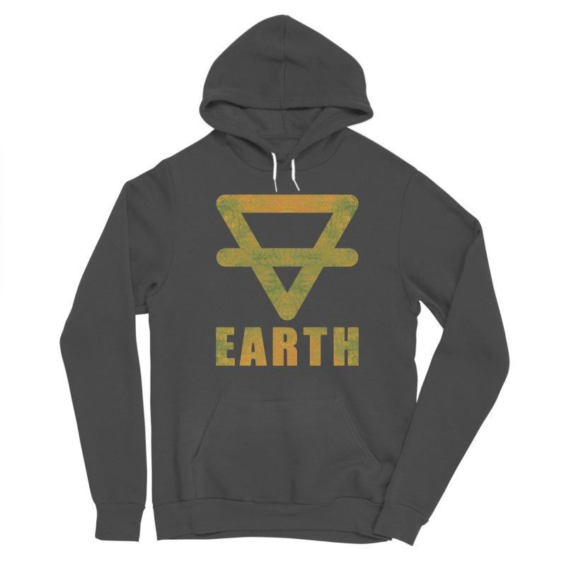 Earth Sign Women's Sponge Fleece Pullover Hoody by earthfiredragon