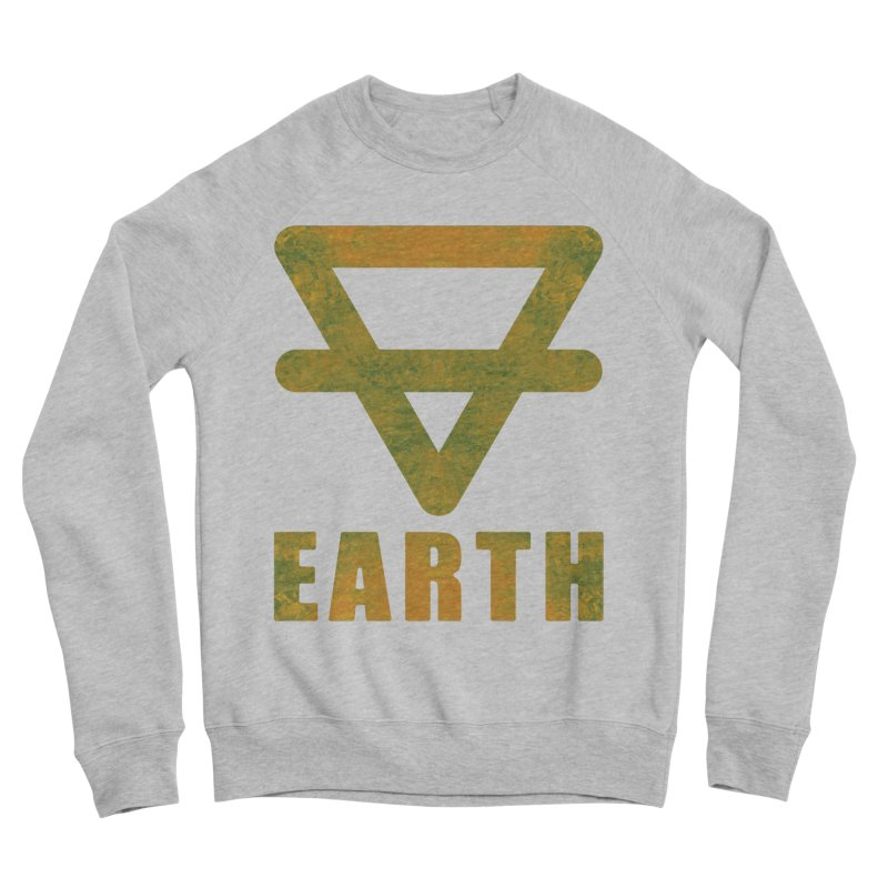 Earth Sign Men's Sponge Fleece Sweatshirt by earthfiredragon