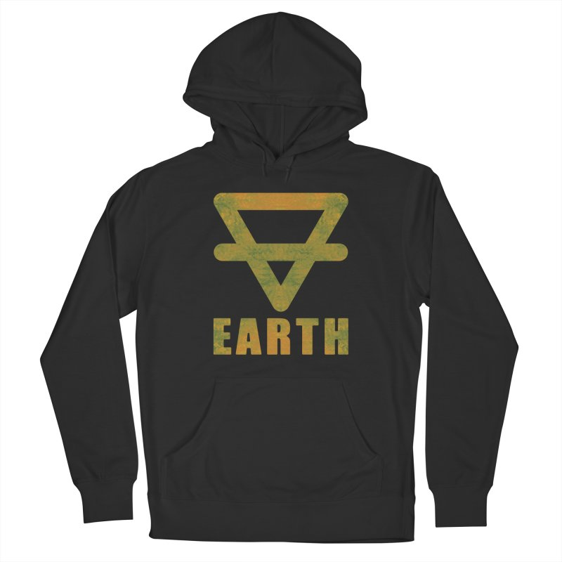 Earth Sign Women's French Terry Pullover Hoody by earthfiredragon