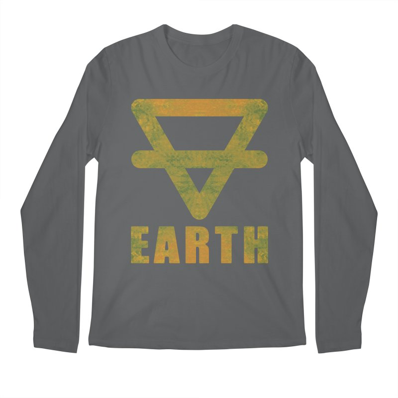 Earth Sign Men's Longsleeve T-Shirt by earthfiredragon