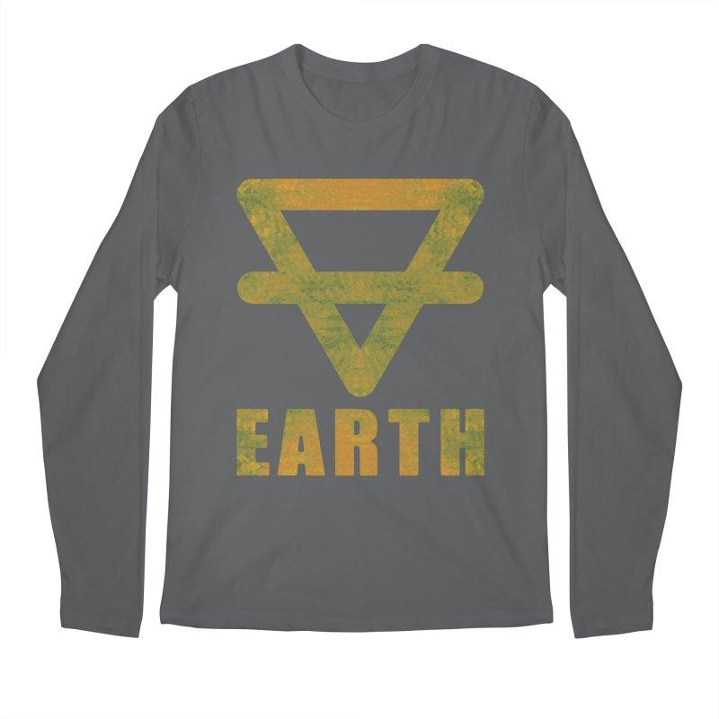 Earth Sign Men's Longsleeve T-Shirt by earthfiredragon