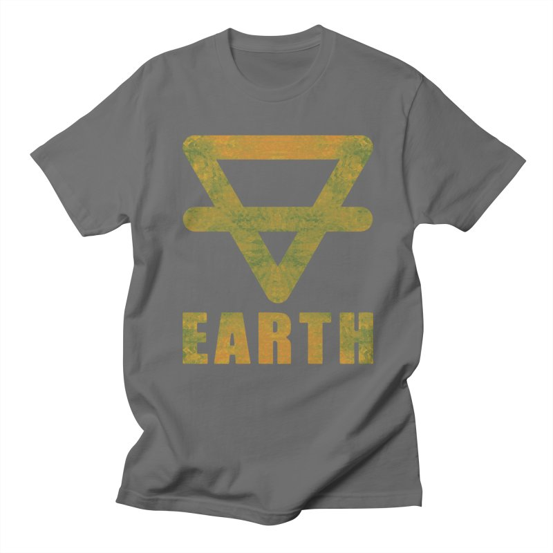 Earth Sign Men's T-Shirt by earthfiredragon