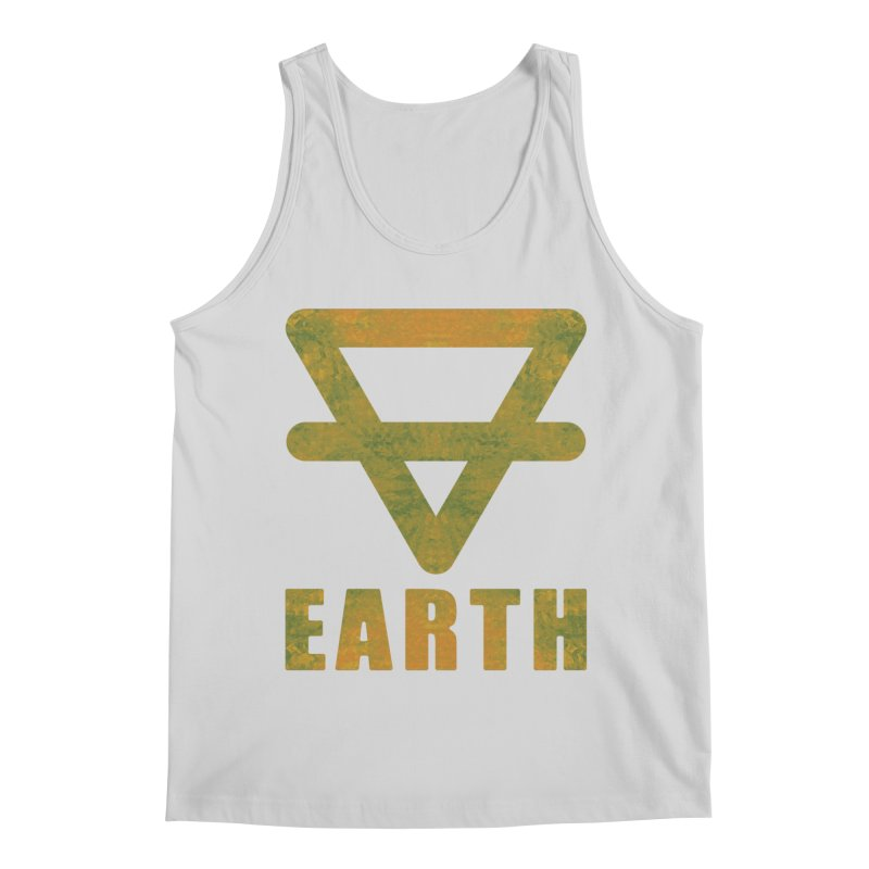 Earth Sign Men's Tank by earthfiredragon