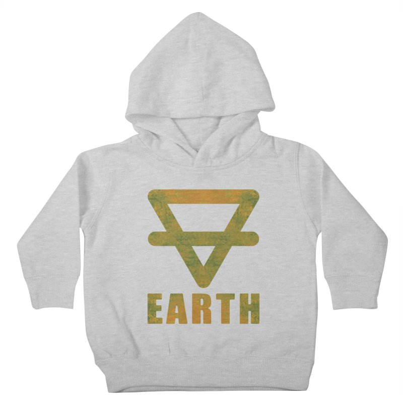 Earth Sign Kids Toddler Pullover Hoody by earthfiredragon