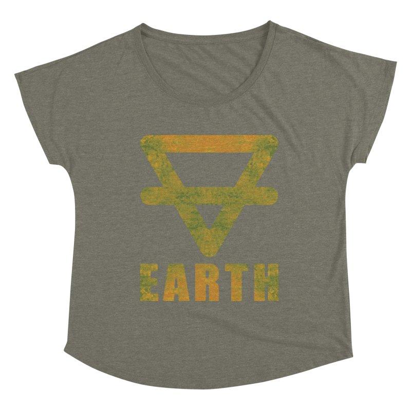 Earth Sign Women's Scoop Neck by earthfiredragon