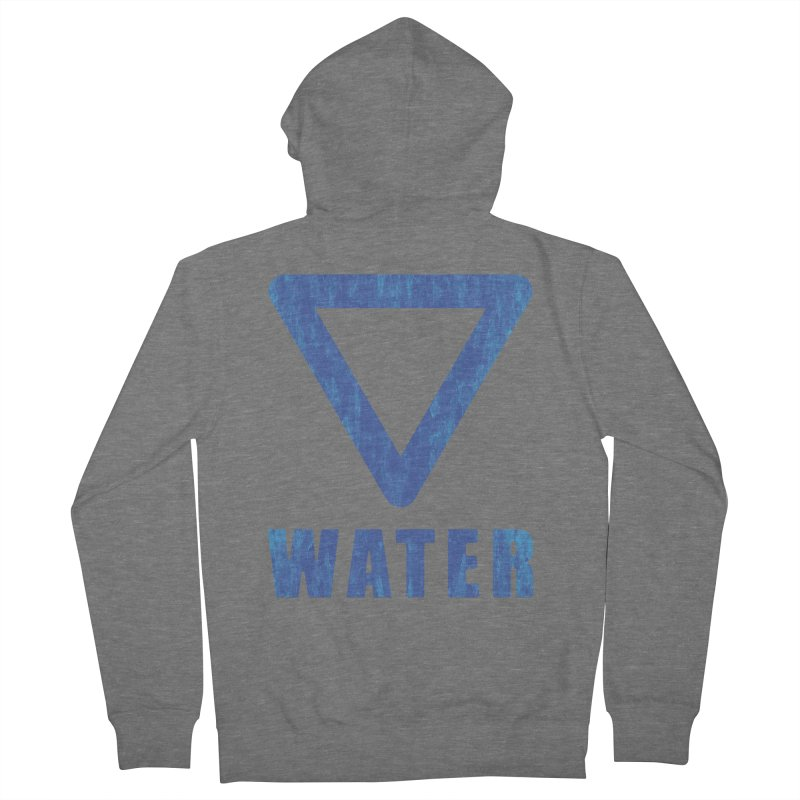 Water Sign Women's Zip-Up Hoody by earthfiredragon