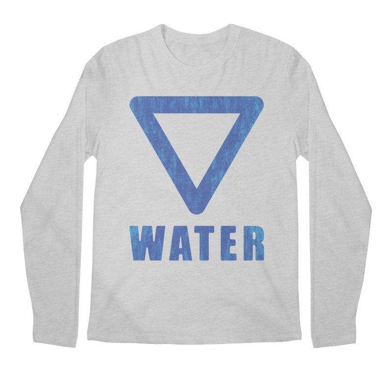 Water Sign Men's Longsleeve T-Shirt by earthfiredragon
