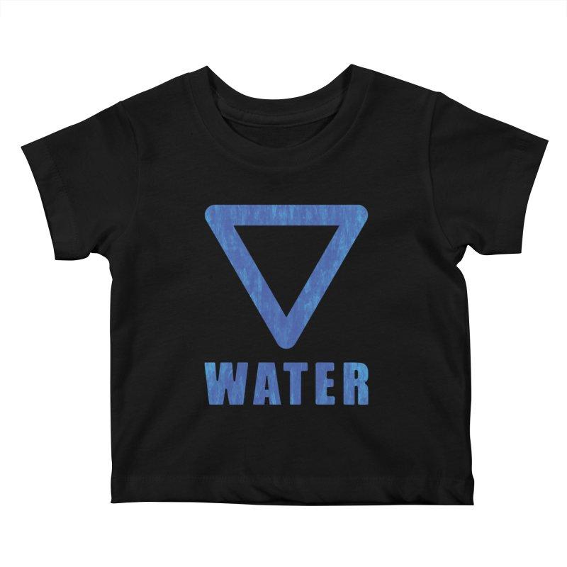 Water Sign Kids Baby T-Shirt by earthfiredragon