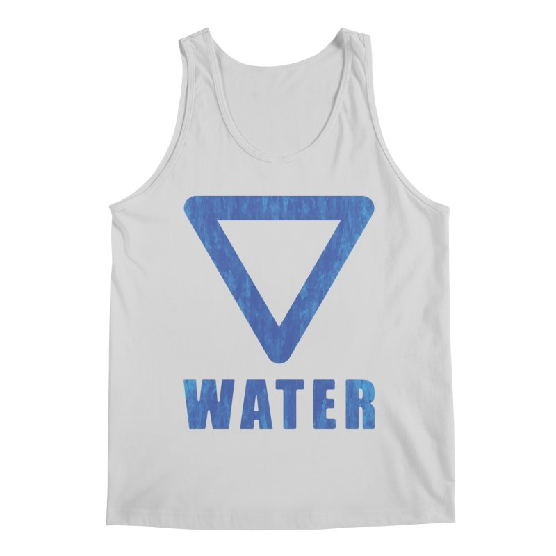 Water Sign Men's Tank by earthfiredragon