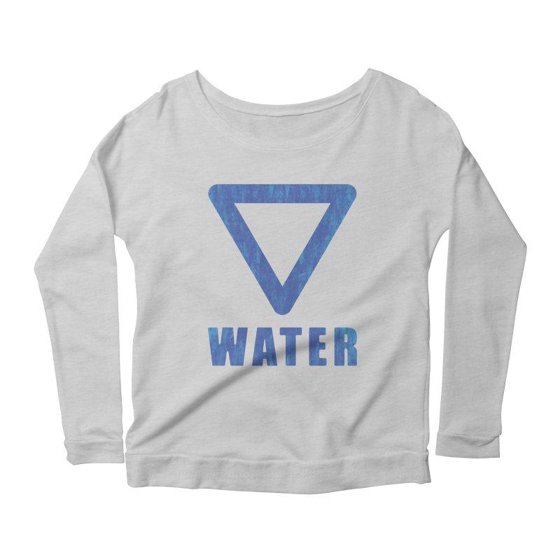 Water Sign Women's Longsleeve T-Shirt by earthfiredragon