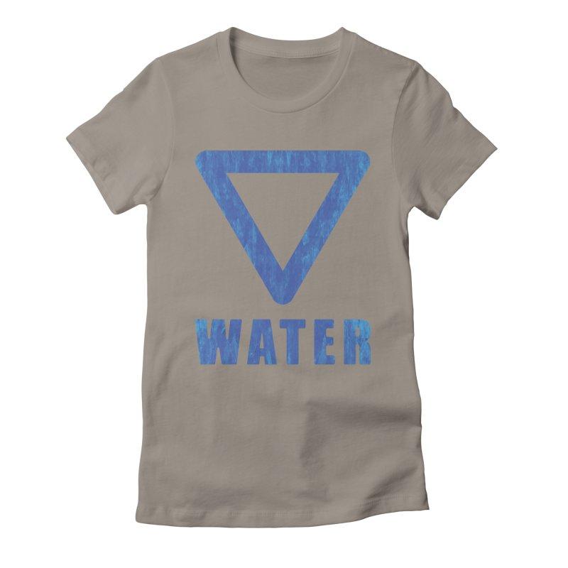 Water Sign Women's T-Shirt by earthfiredragon