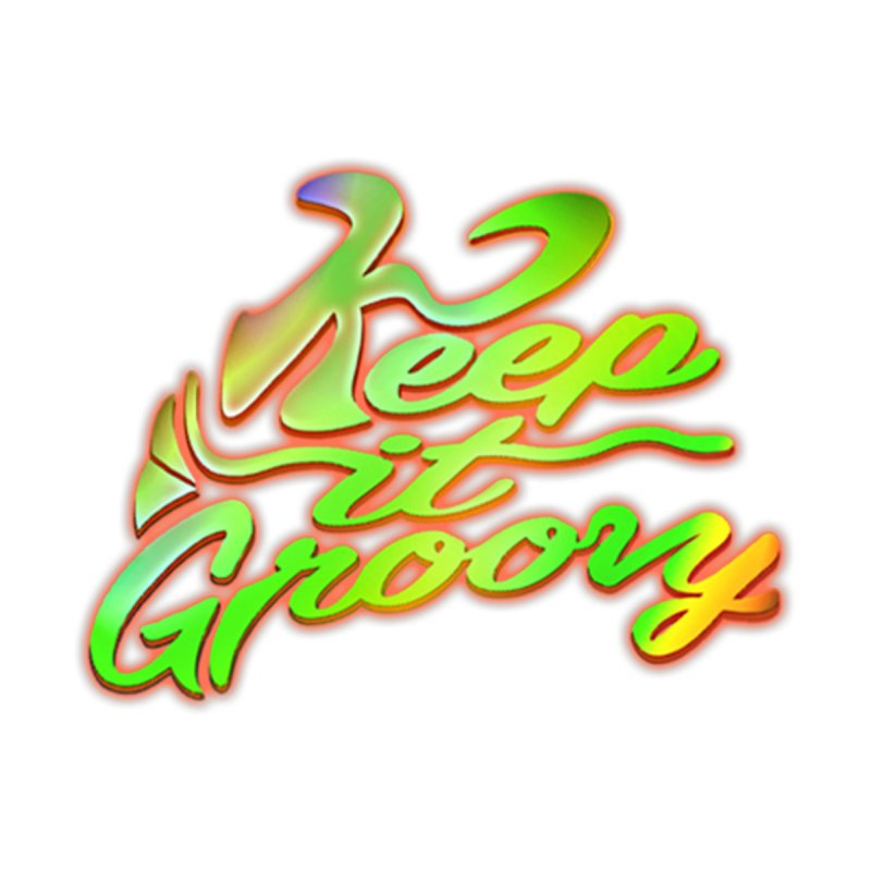 Keep It Groovy Kids Baby T-Shirt by earthfiredragon