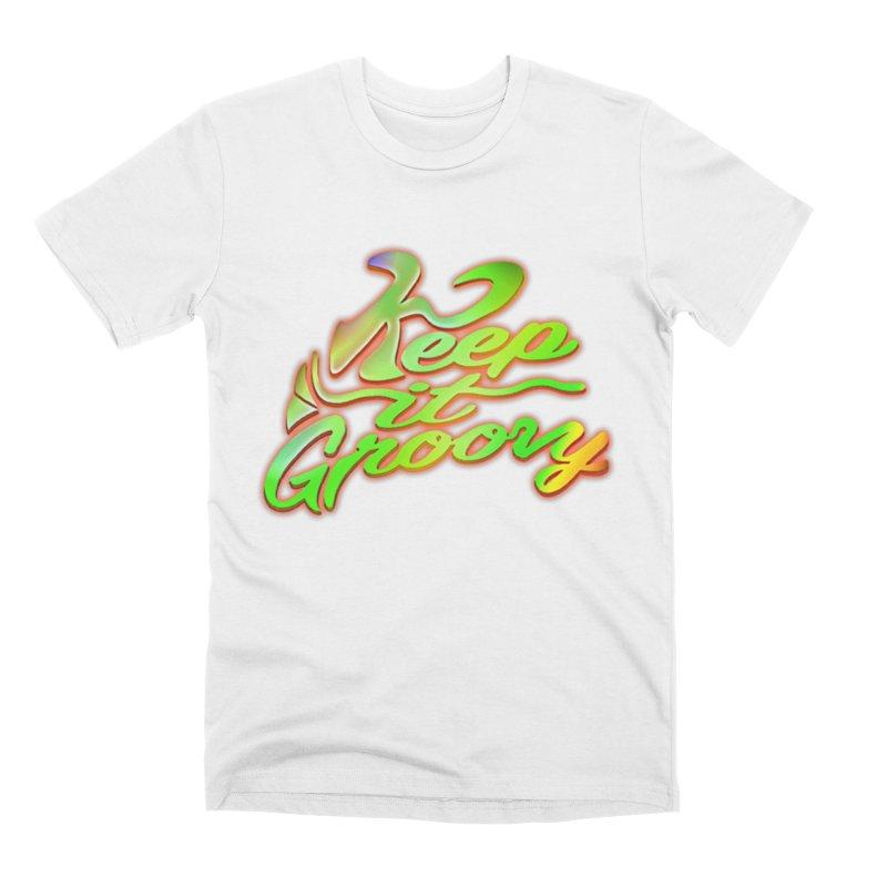 Keep It Groovy Men's T-Shirt by earthfiredragon