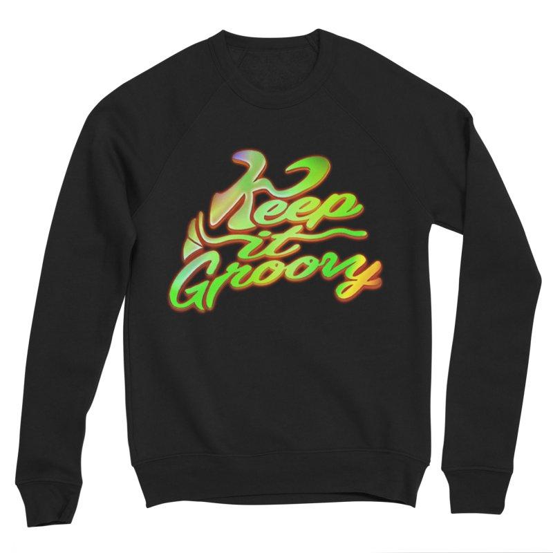 Keep It Groovy Women's Sponge Fleece Sweatshirt by earthfiredragon