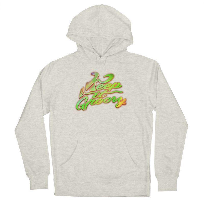 Keep It Groovy Men's Pullover Hoody by earthfiredragon