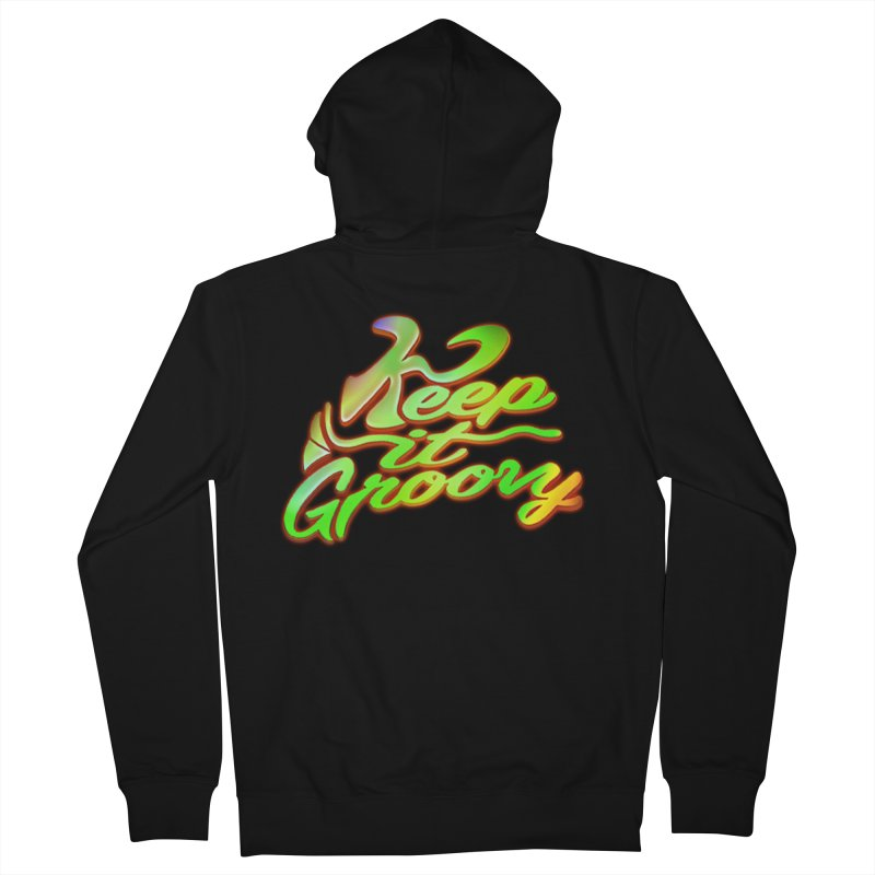 Keep It Groovy Women's Zip-Up Hoody by earthfiredragon