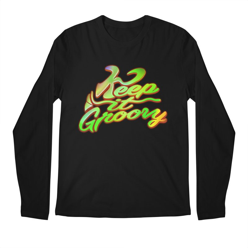 Keep It Groovy Men's Longsleeve T-Shirt by earthfiredragon