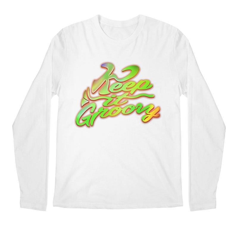 Keep It Groovy Men's Longsleeve T-Shirt by earthfiredragon