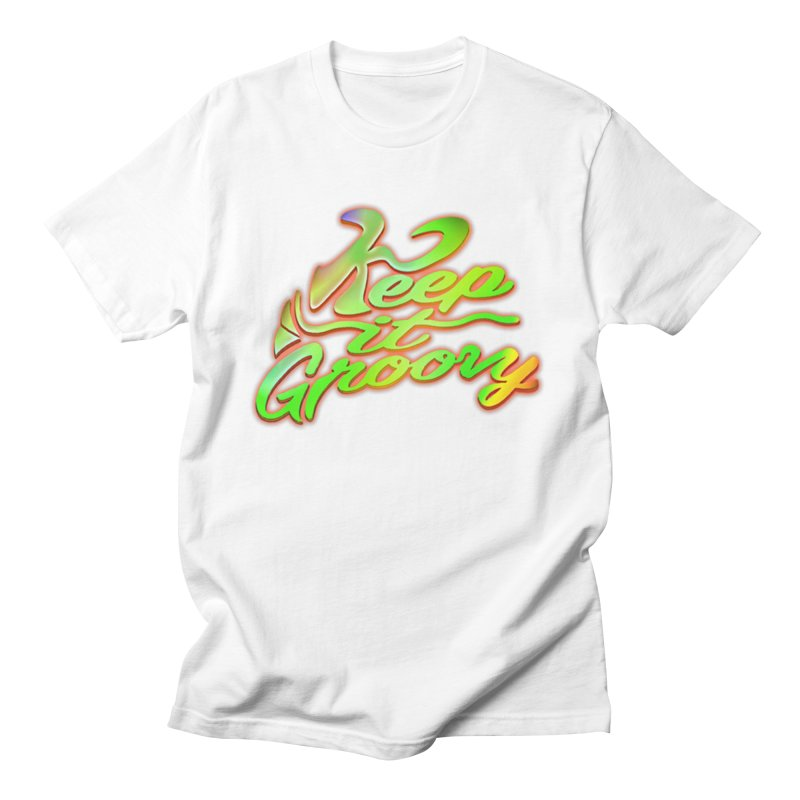Keep It Groovy Men's T-Shirt by earthfiredragon