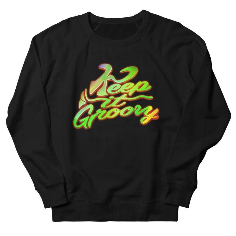 Keep It Groovy Women's Sweatshirt by earthfiredragon