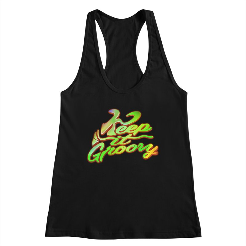 Keep It Groovy Women's Tank by earthfiredragon