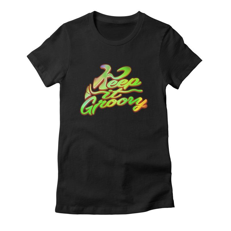 Keep It Groovy Women's T-Shirt by earthfiredragon