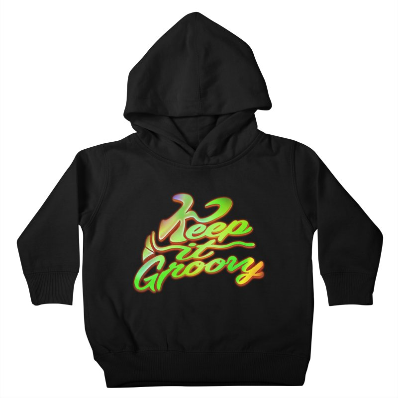 Keep It Groovy Kids Toddler Pullover Hoody by earthfiredragon