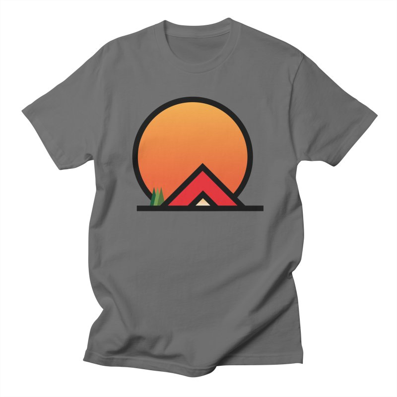 Camp Men's T-Shirt by earthfiredragon