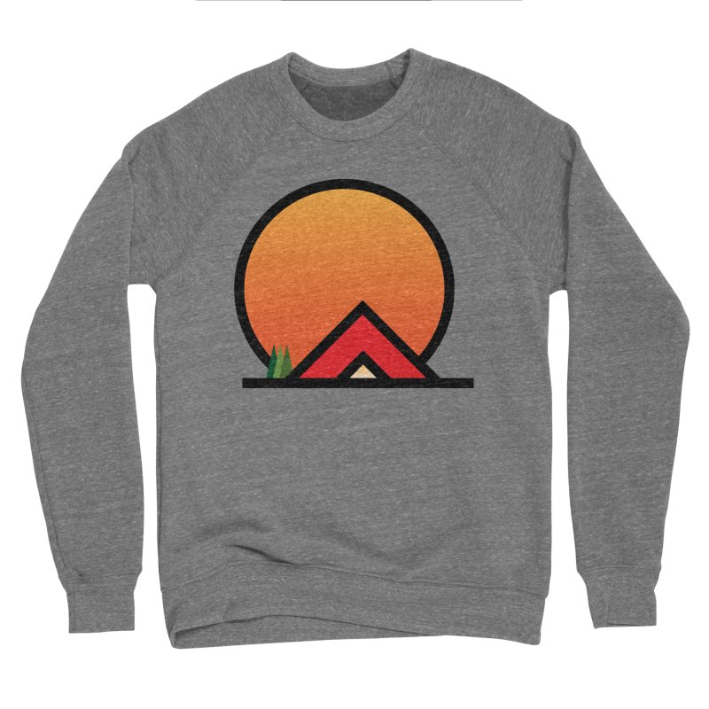 Camp Men's Sweatshirt by earthfiredragon