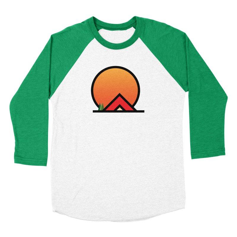 Camp Men's Baseball Triblend Longsleeve T-Shirt by earthfiredragon