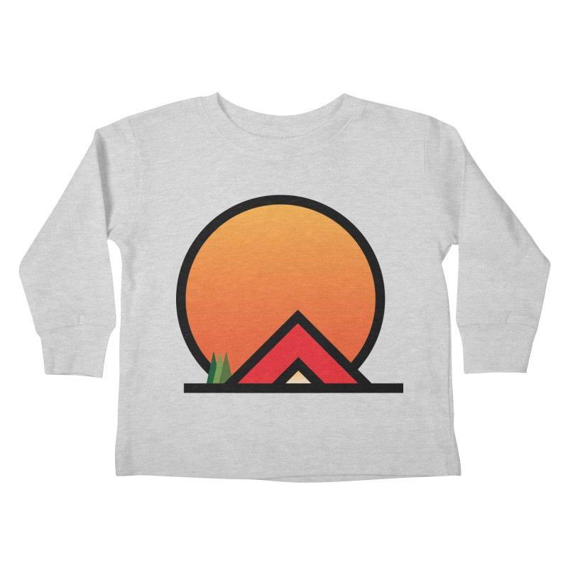 Camp Kids Toddler Longsleeve T-Shirt by earthfiredragon