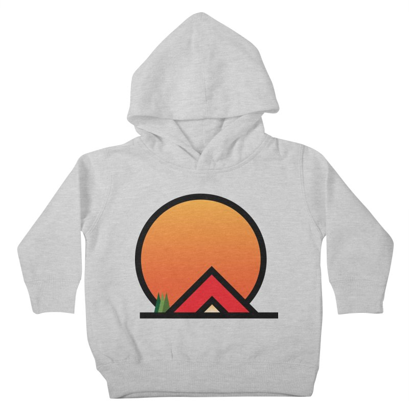 Camp Kids Toddler Pullover Hoody by earthfiredragon