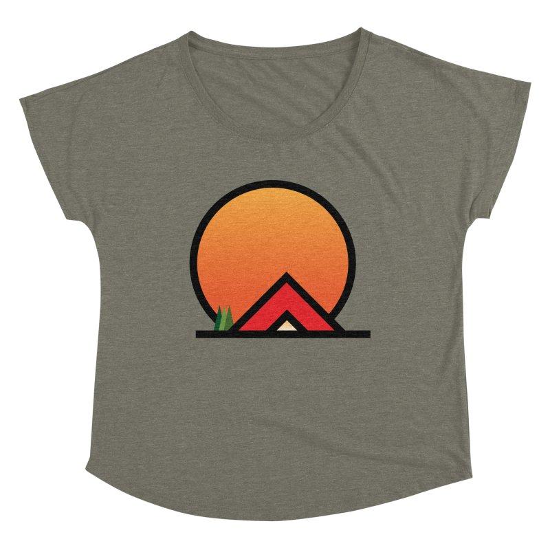 Camp Women's Scoop Neck by earthfiredragon