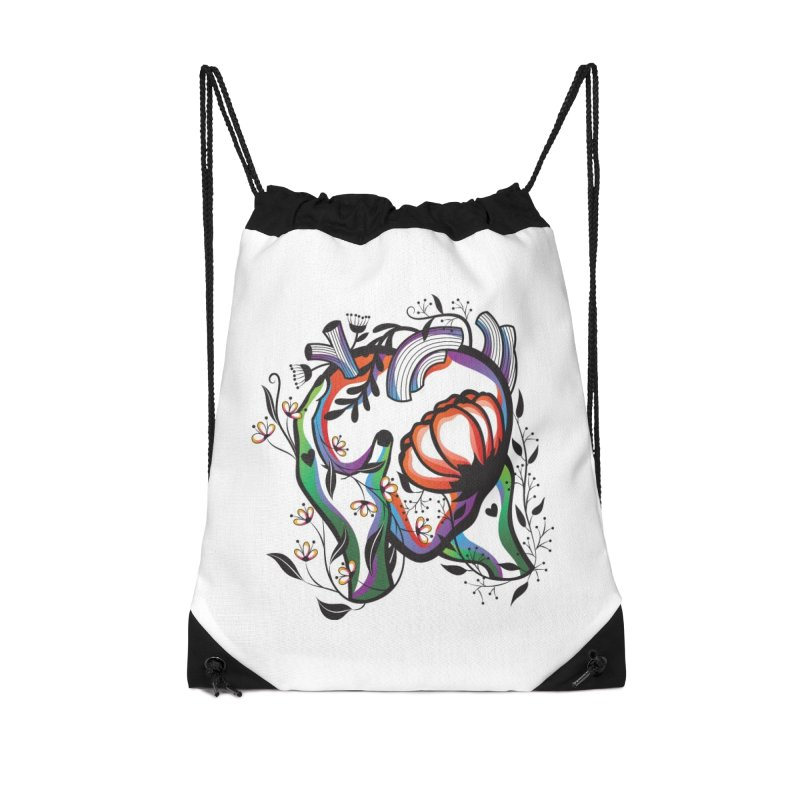 Pablo Neruda Love Poem (1) - Sonnet XVII Accessories Drawstring Bag Bag by Eastern Cloud's Artist Shop