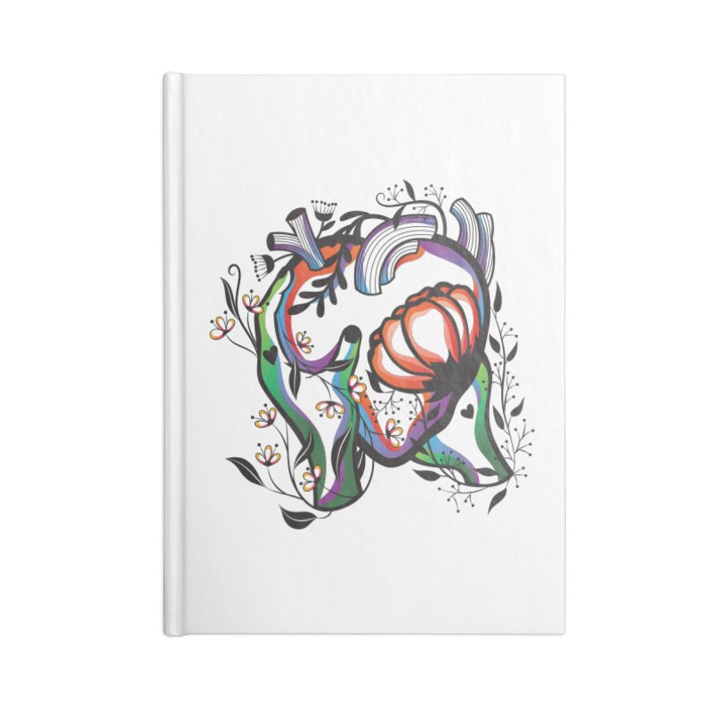 Pablo Neruda Love Poem (1) - Sonnet XVII Accessories Blank Journal Notebook by Eastern Cloud's Artist Shop