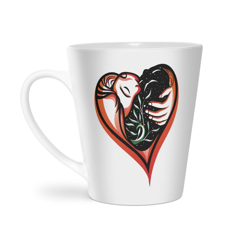 Pablo Neruda Love Poem (2) - Sonnet XVII Accessories Latte Mug by Eastern Cloud's Artist Shop
