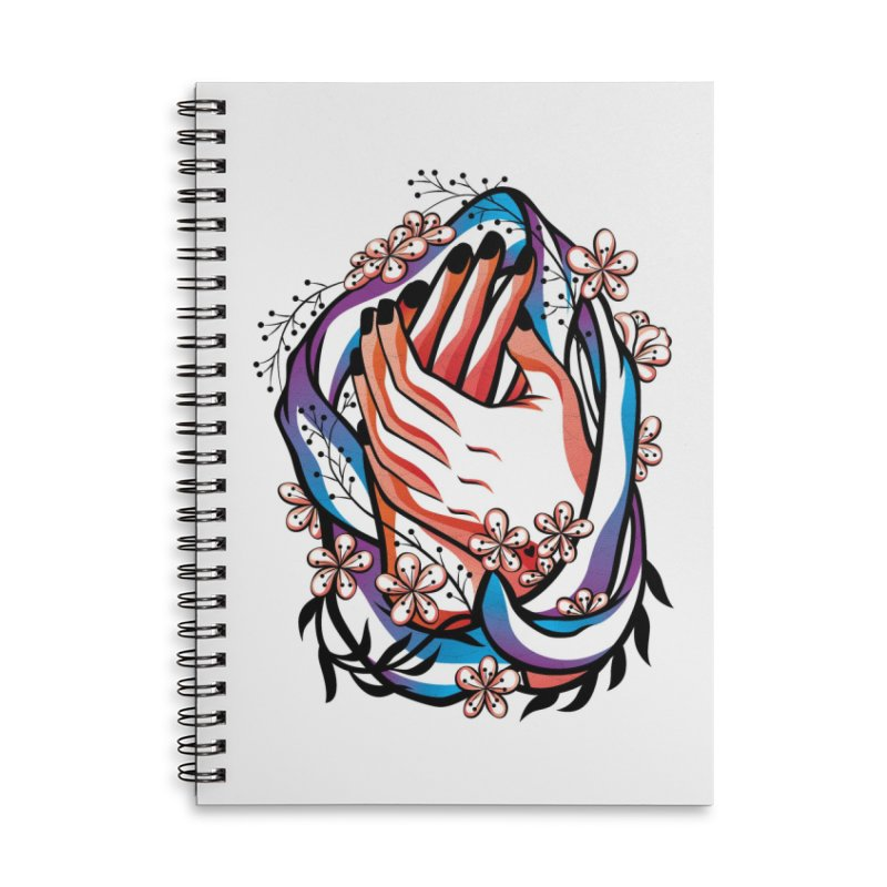 Pablo Neruda Love Poem (4) - Sonnet XVII Accessories Lined Spiral Notebook by Eastern Cloud's Artist Shop