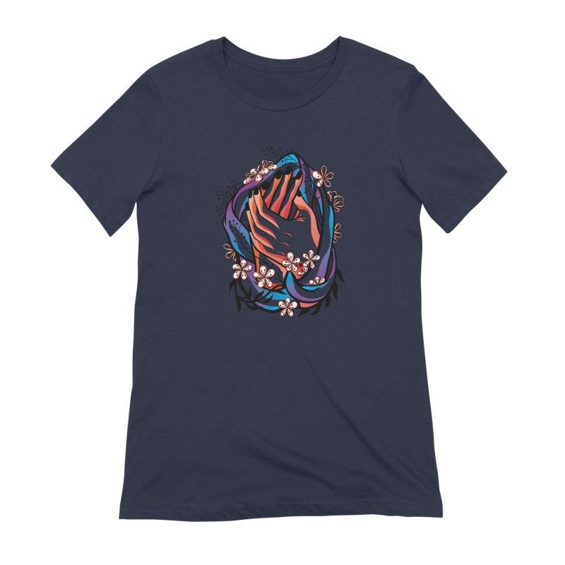 Pablo Neruda Love Poem (4) - Sonnet XVII Women's Extra Soft T-Shirt by Eastern Cloud's Artist Shop