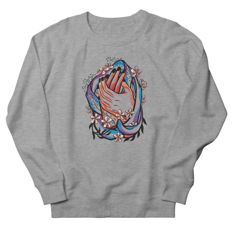 Pablo Neruda Love Poem (4) - Sonnet XVII Women's French Terry Sweatshirt by Eastern Cloud's Artist Shop