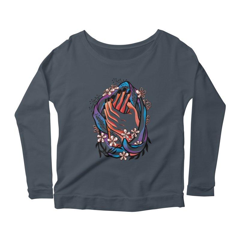Pablo Neruda Love Poem (4) - Sonnet XVII Women's Scoop Neck Longsleeve T-Shirt by Eastern Cloud's Artist Shop