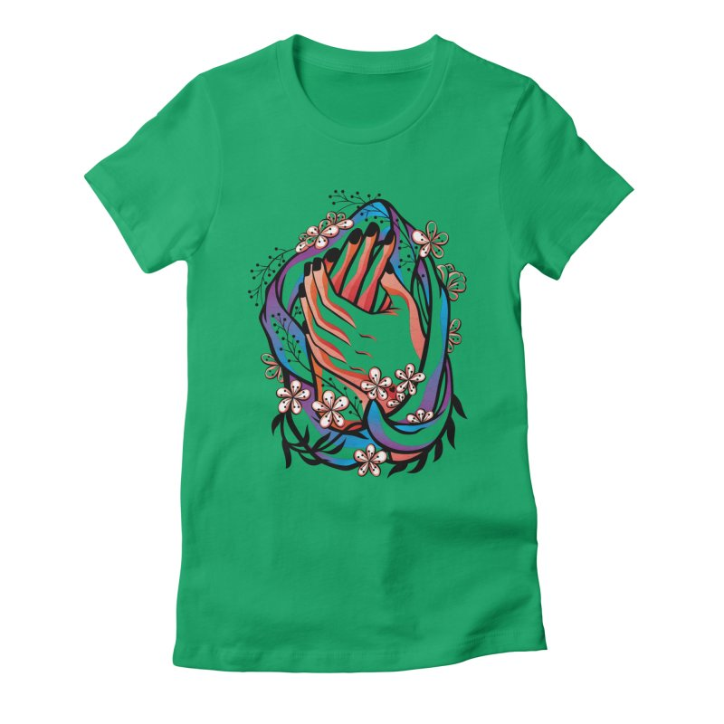 Pablo Neruda Love Poem (4) - Sonnet XVII Women's Fitted T-Shirt by Eastern Cloud's Artist Shop