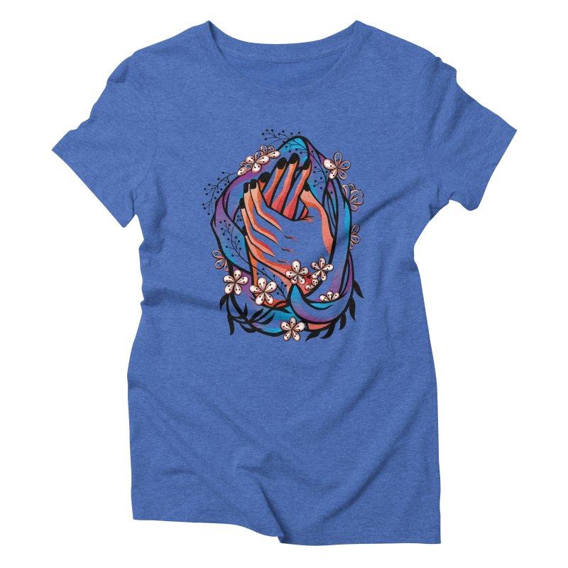 Pablo Neruda Love Poem (4) - Sonnet XVII Women's Triblend T-Shirt by Eastern Cloud's Artist Shop