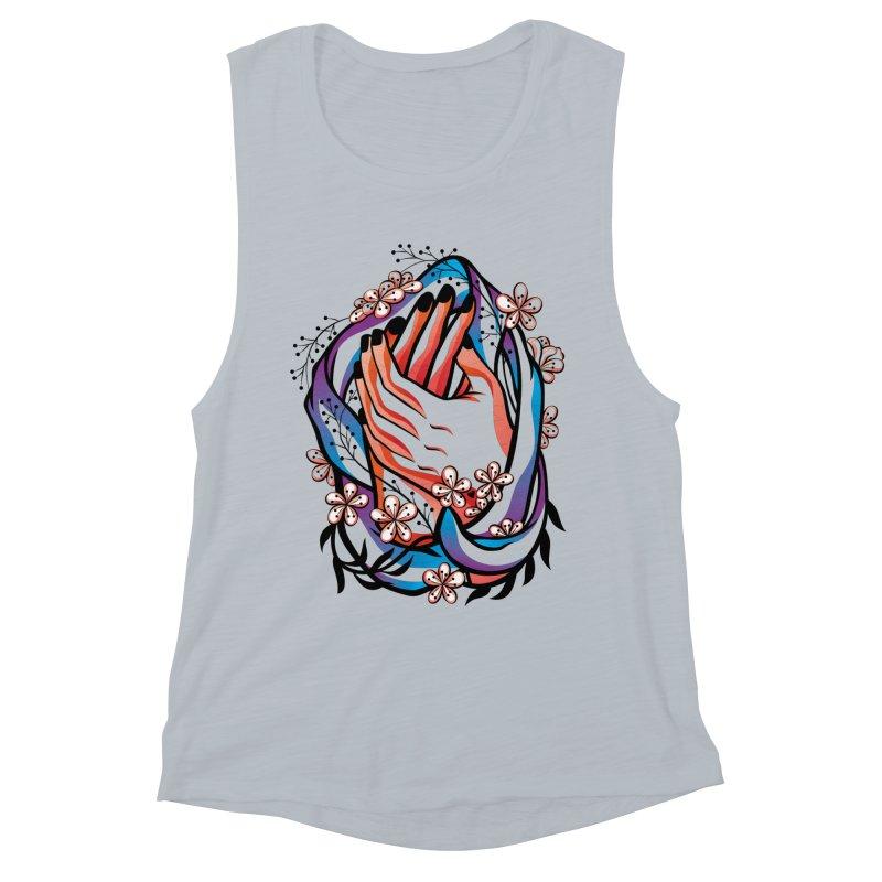 Pablo Neruda Love Poem (4) - Sonnet XVII Women's Muscle Tank by Eastern Cloud's Artist Shop